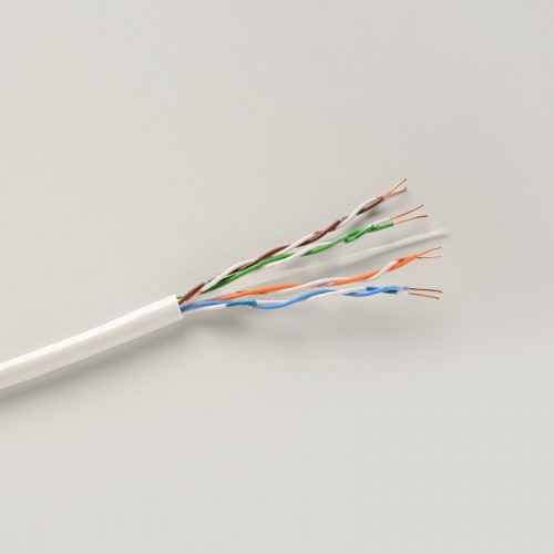 CW1308 telephone cable in white